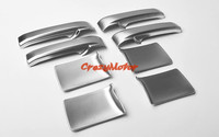 For Toyota Land Cruiser LC200 2008-2016 Door Handle Cover Trim & Door Handle Bowl Cover Trims