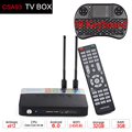S912 CSA93 Amlogic Android 6.0 Smart TV Box 3 GB RAM 32 GB ROM 2.4G/5.8 GHZ Dual WiFi Set Top Box Bluetooth 4.0 UHD Media jogador