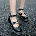 Punta redonda Dulce Lolita Hermosa Adorable Muñeca Zapatos de Las Mujeres