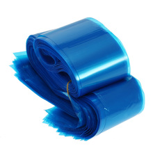 100Pcs/pack Tattoo Clip Cord Sleeves Bags Supply Disposable Covers Bags For Tattoo Machine Professional Tattoo Accessory Blue