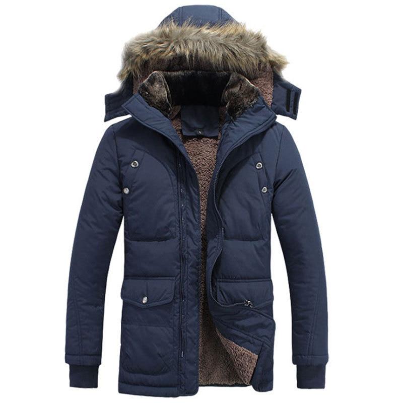2016 zimska jakna za muškarce plus veličina M-4XL topla debela runo - Muška odjeća - Foto 1