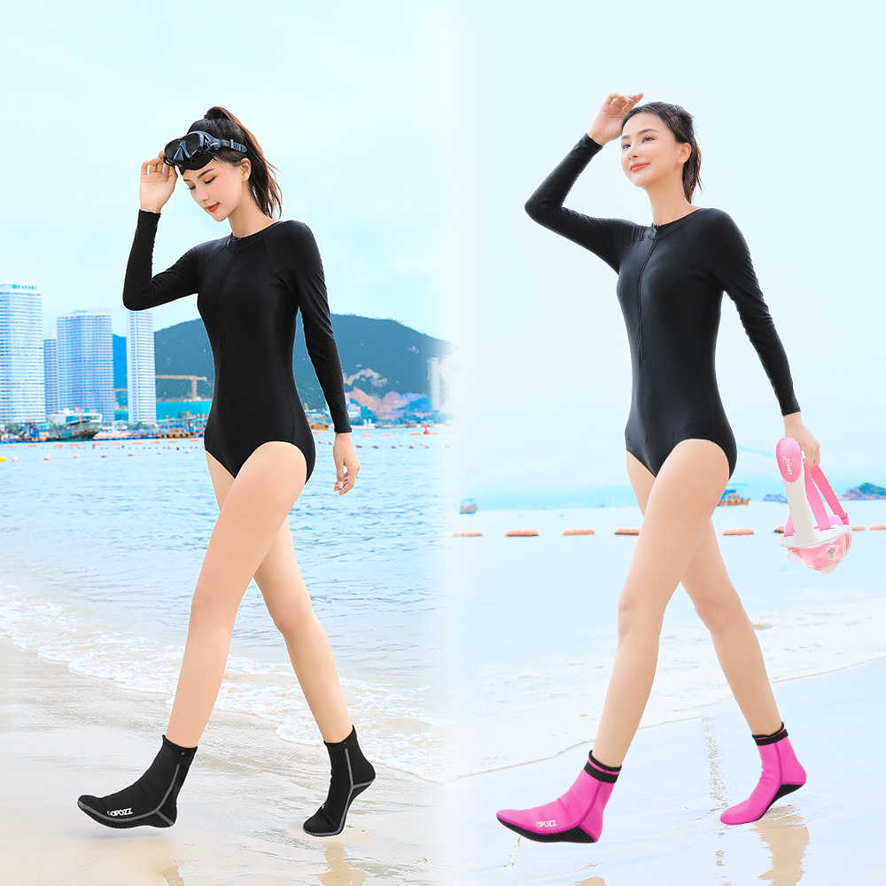 3mm neoprenowe skarpety nurkowe buty buty do wody antypoślizgowe plażowe ciepłe buty do nurkowania Snorkeling pływanie Surfing skarpety dla mężczyzn kobiety