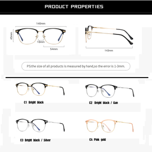 Image 5 - פרו פסגת TR90 כחול אור חסימת משקפיים/כחול אור משקפיים נשים/מחשב גיימר משקפיים/אנטי קרינה מסך משקפיים PB1207