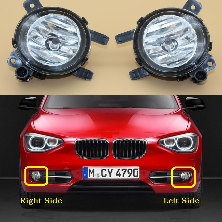 Car Light For BMW 1 Series F20 F21 118i 125i 2011 2012 2013 2014 2015 2016 Car-Styling Front Halogen Fog Light Fog Lamp car light car styling for vw polo vento sedan saloon 2011 2012 2013 2014 2015 2016 halogen fog light fog lamp and wire