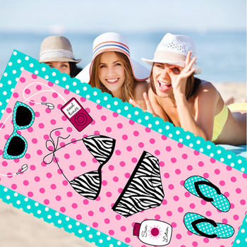 Summer Beach Towel 70*140cm Absorbent Microfiber Bath Towels Adult Quicky-dry Camping Large Swimming Shower Yoga Sport Towels