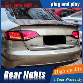 Car Styling LED Tail Lamp for A4 Taillight assembly 2009-2012 for A4 Rear Light DRL+Turn Signal+Brake with hid kit 2pcs.