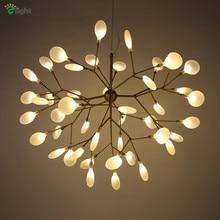 Современная металлическая ветсветодио дный ка светодиодная подвесная люстра огни Блеск Акриловая столовая светодио дный светодиодные люстры освещение светодио дный светодиодные подвесные светильники
