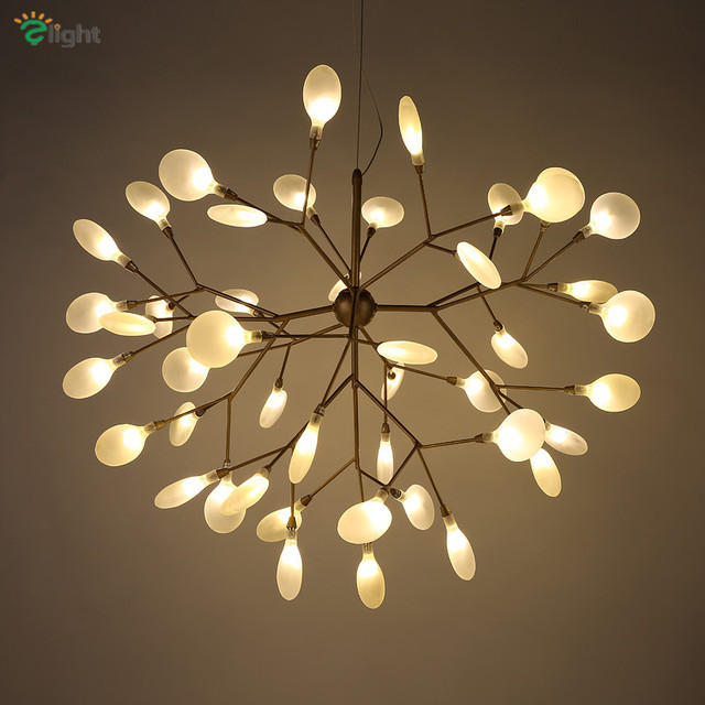 Aliexpress.com : Buy Modern Metal Branch Led Pendant Chandelier ...