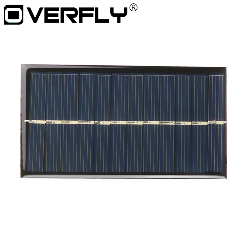 Solar Panel 5V 0.15W 6V 1W Portable Mini Sunpower DIY Painel For Solar Light Lamp Battery Toys Phone Charger Solar Charger