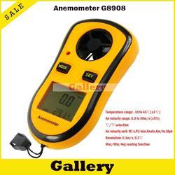 Anemometr cyfrowy anemometr wiatr GM8908 wyświetlacz poziomu