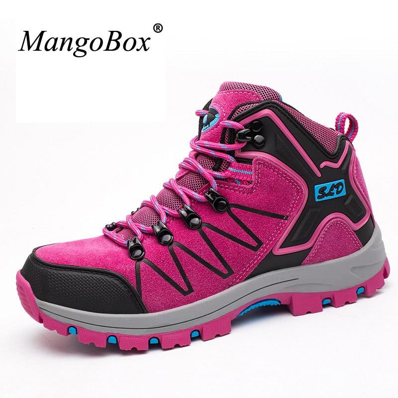 MangoBox New Arrival Womens Trekking font b Boots b font Hard Wearing font b Hiking b