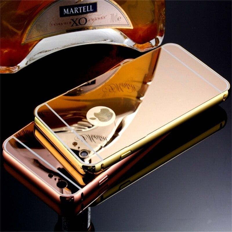 Xinchentech Για θήκη iphone 6 / 6S Luxury Mirror Metal - Ανταλλακτικά και αξεσουάρ κινητών τηλεφώνων - Φωτογραφία 4