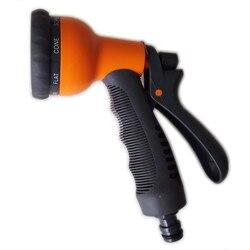 8 Muster Garten Wasserpistole Schlauch Düse Mutifunctional Haushalt Auto Waschen Yard Water Sprayer Rohr Düse Streuen Werkzeuge