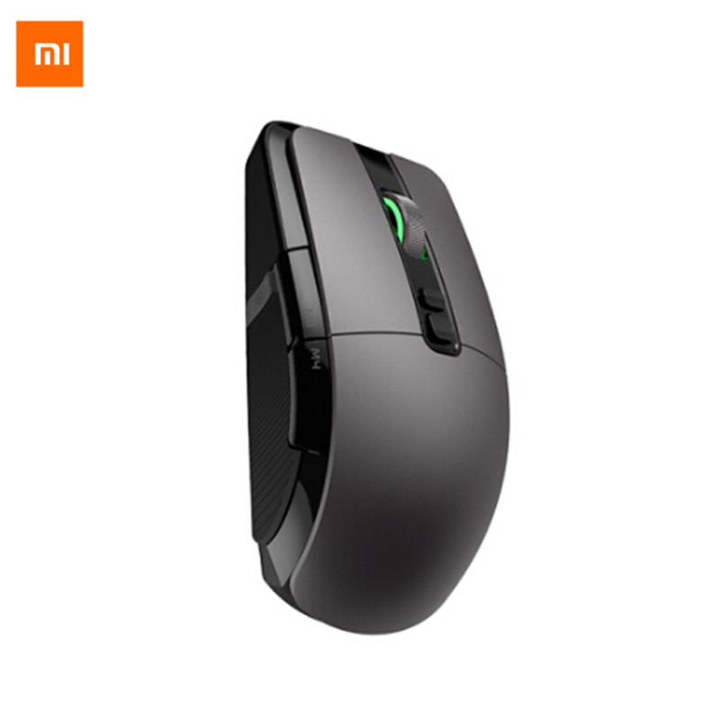 Original Xiaomi 7200 DPI jeu souris Portable fil/sans fil 2.4 GHz double Mode 6 boutons RGB LED bureau souris Support Mac OS Windows