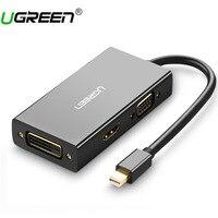 Ugreen Thunderbolt Mini Displayport To HDMI VGA DVI Adapter Converter Cable For Apple MacBook Air Pro