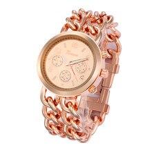 bb4bbaab1 الجملة سعر كاوبوي سلسلة عارضة الساعات أزياء للجنسين جنيف ساعة اليد العلامة  التجارية الساخن بيع سبائك التفاف ساعة كوارتز 50 قطعة/.