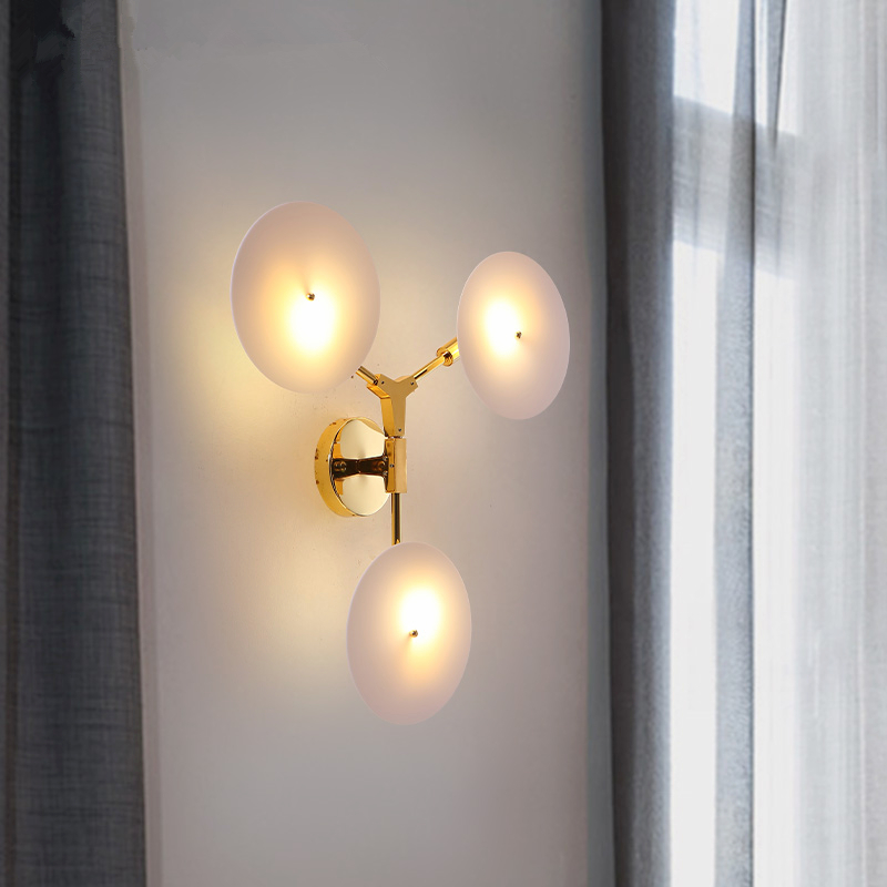 LED living room sconces Nordic fixtures loft illumination bedroom wall lights home deco lighting aisle hallway