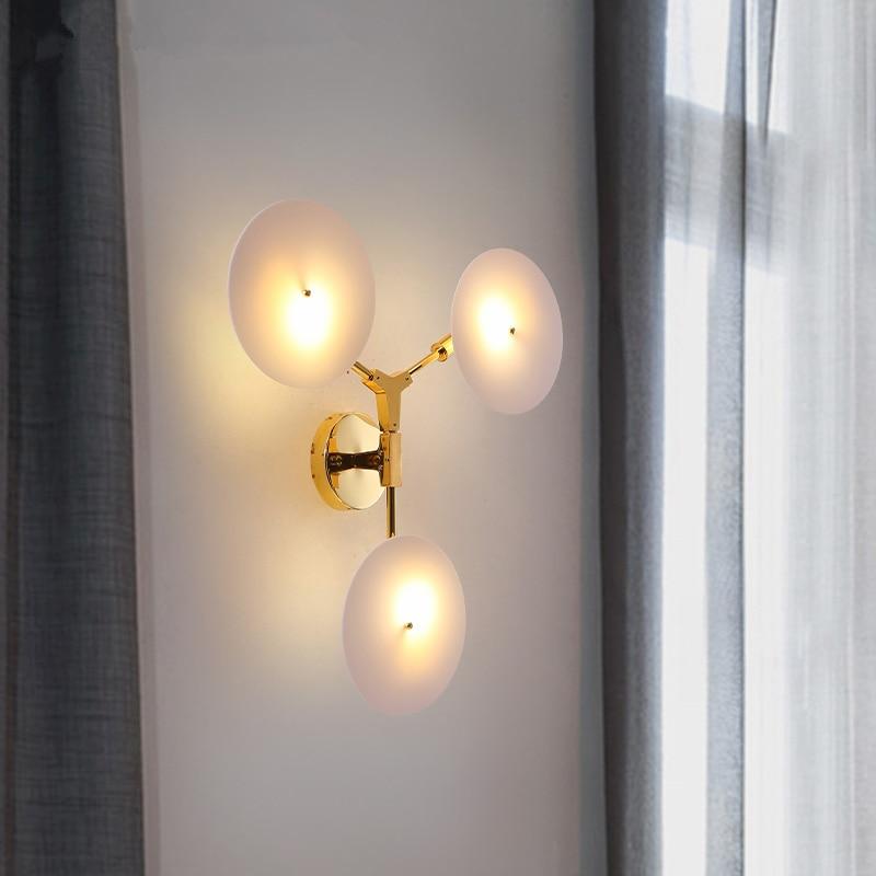 LED wohnzimmer wandlampen Nordic leuchten loft beleuchtung ...
