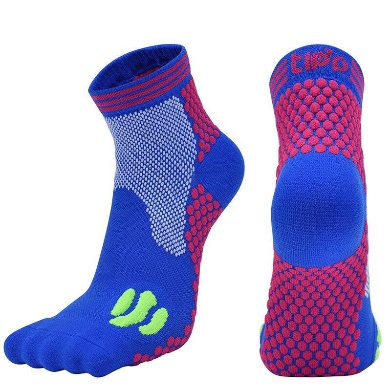 running - Professionl Men Compression Socks Breathable Running Sports Socks 20-30mmHg Outdoor Shockproof Marathon Women Cycling Socks