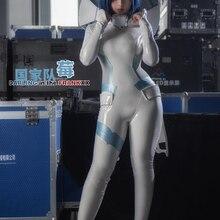 Ichigo DARLING in the FRANXX Аниме Косплей Ichigo Косплей Костюм консоль костюм для вождения комбинезон с реквизитами