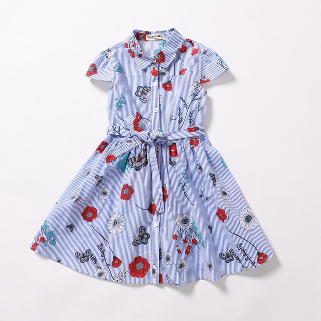 02c7844451f4 Candydoll Girls Dresses 2019 New Fashion Princess Clohting Blue ...
