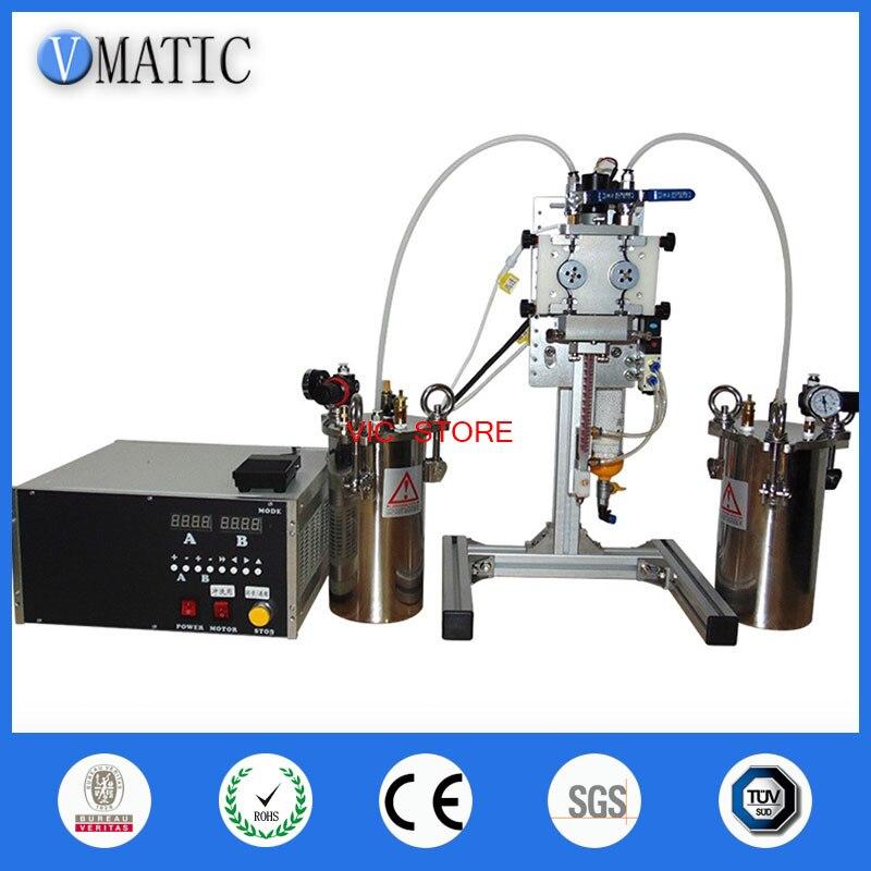 Free Shipping Automatic AB Dispenser-Potting Machine Double Liquid Dispensing Equipment AB Silica Gel Automatic AB Controller