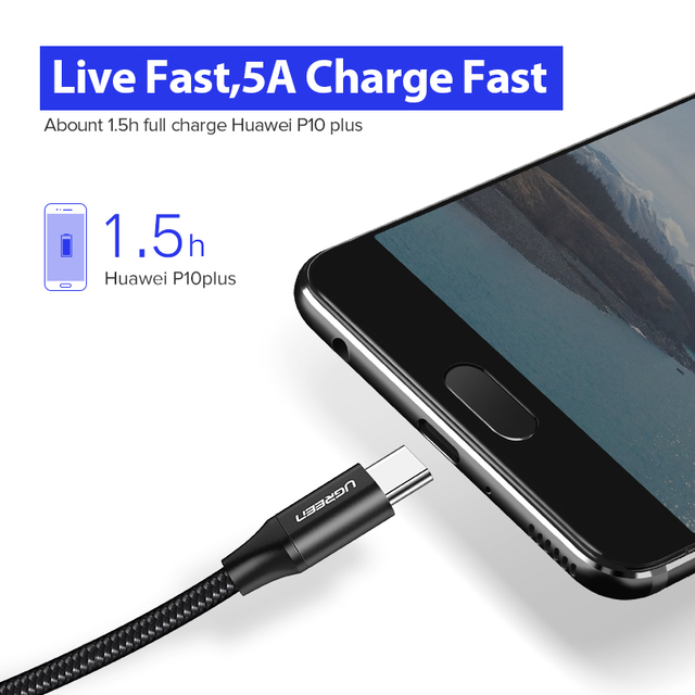 5 A Super Charging Type-C Cable for Phones