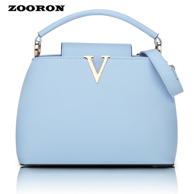 000826b1e8 ZOORON 2017 The New women fashionable Brand Handbag Shoulder PU leather Handbag  women messenger bags Korean