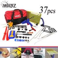 37pcs PDR Tools Set Dent Removal paintless Dent repair Tools Car Dent puller Reflector Board pdr auto body repair hand tool set