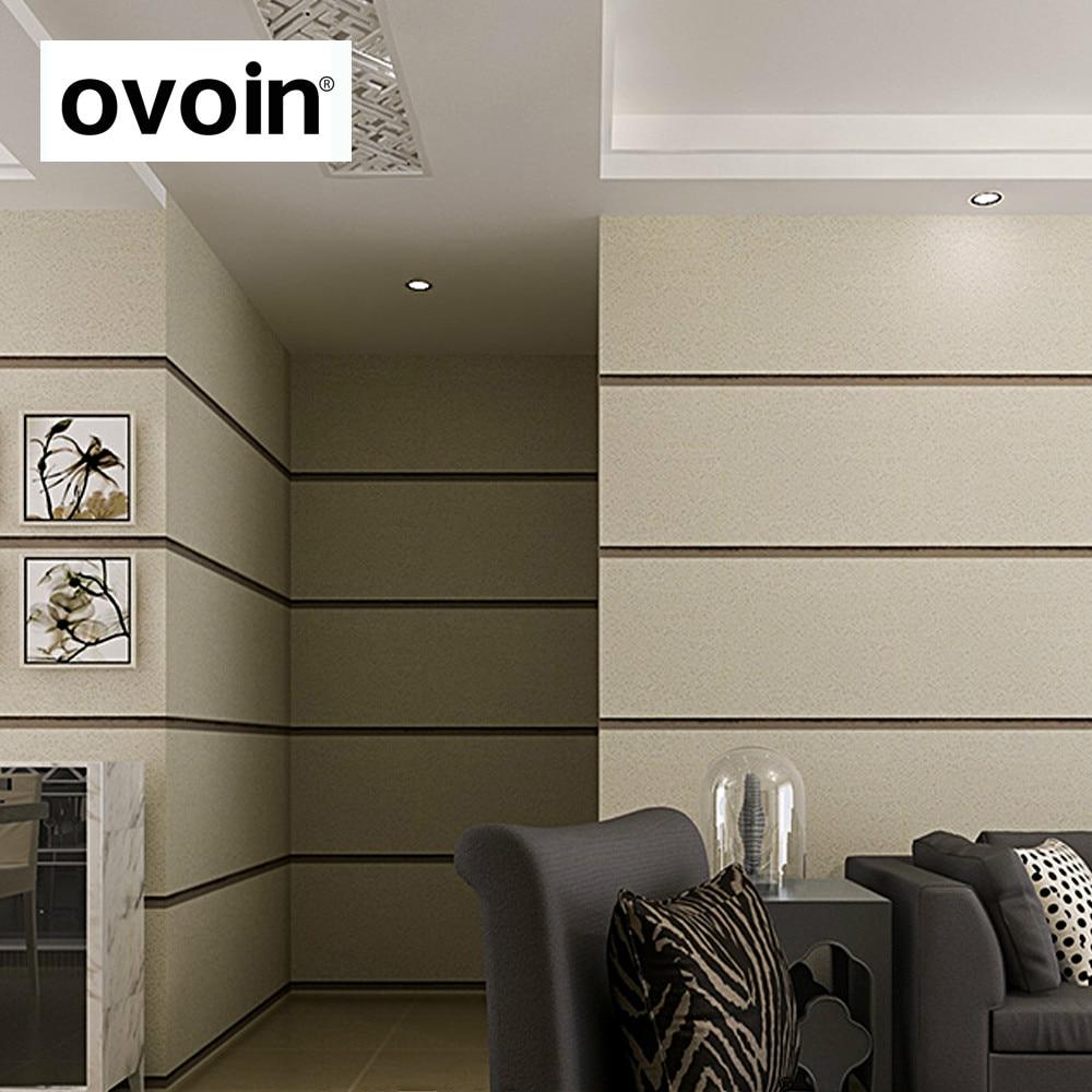 Stereoskopischen 3D Tapete Schlafzimmer Wohnzimmer Hintergrund Wand  Strömten Moderne Wand Papier Rolle Horizontale Streifen Tapeten