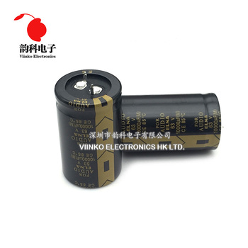 10pcs Black Bolsa Elna For Ina's Top For Audio Stereo Filtering 10000uF 63V 30*50mm Electrolytic Capacitor 30x50mm image