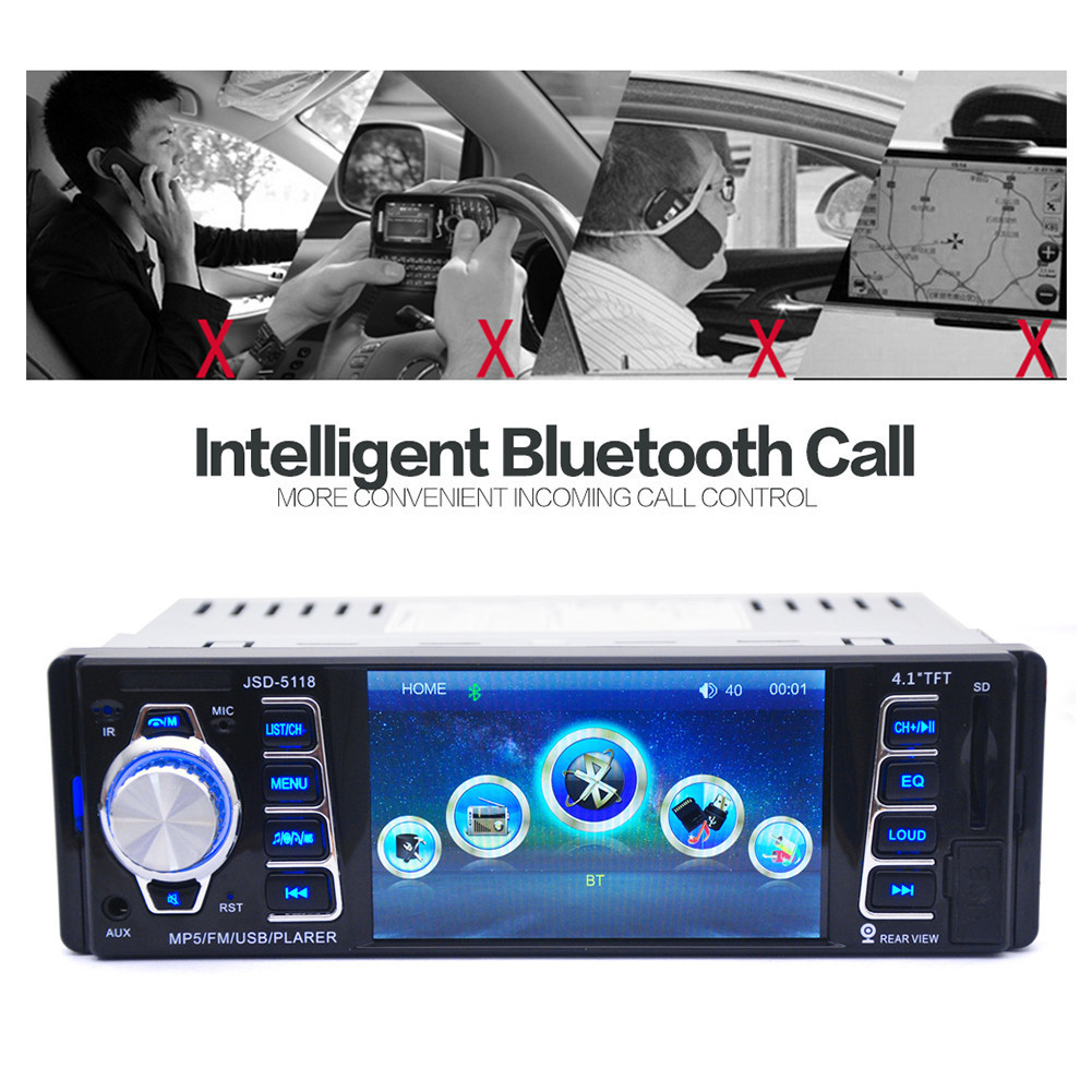Ingebouwde Wirel 4.1-inch HD Auto FM Audio Auto Bluetooth Speler MP5 - Auto-elektronica - Foto 3