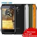Ht20 homtom ip68 impermeable 4g smartphone android 6.0 quad core gesto mt6737 smart & wake huella digital del teléfono móvil a prueba de golpes