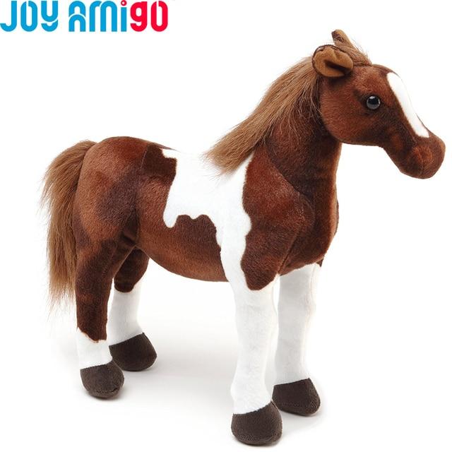 Hanna The Horse Stuffed Lifelike Animal Plush Toy Soft Pony