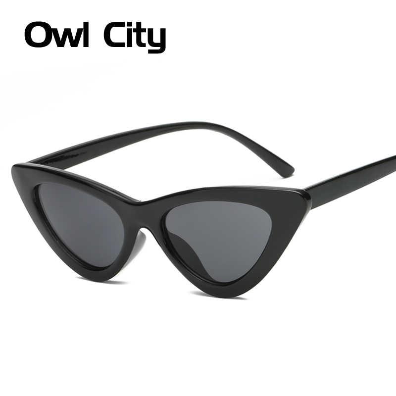 d03332dd51 ... Owl City Vintage Women Sunglasses Cat eye Eyewear Brand Designer Retro  Sunglass Female Oculos de sol ...