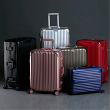 26 INCH 20242629# Rod magnesium alloy, aluminum frame, travelling case, fashion, metal, angle, check box, male, female, un
