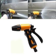 ABS многофункциональный автомобильный водяной пистолет для мытья Авто аксессуар Хо использование удержания использования Садоводство вода цветок высокого давления спрей Омыватель струи