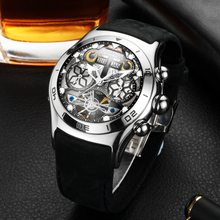 Reef Tiger brand Men Sport watch Montres Grand Cadran Squelette Tourbillon Montre watches Automatic Mechanical relogio masculino