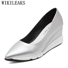2019 Luxury Brand Wedges Shoes For Women Platform Sneakers C