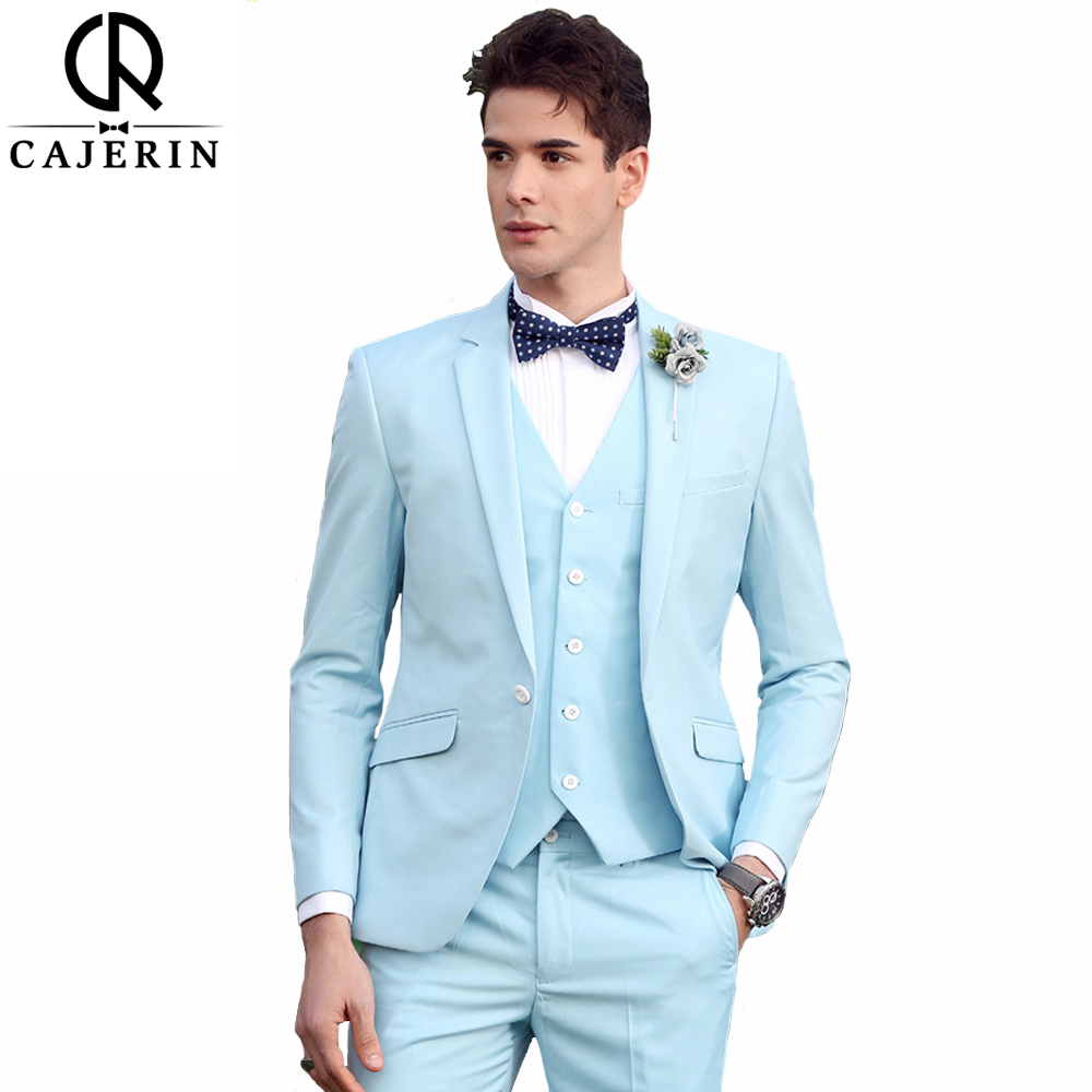 Cajerin Men\'s Clothing England Style Wedding Men Suit Tailor Suit ...