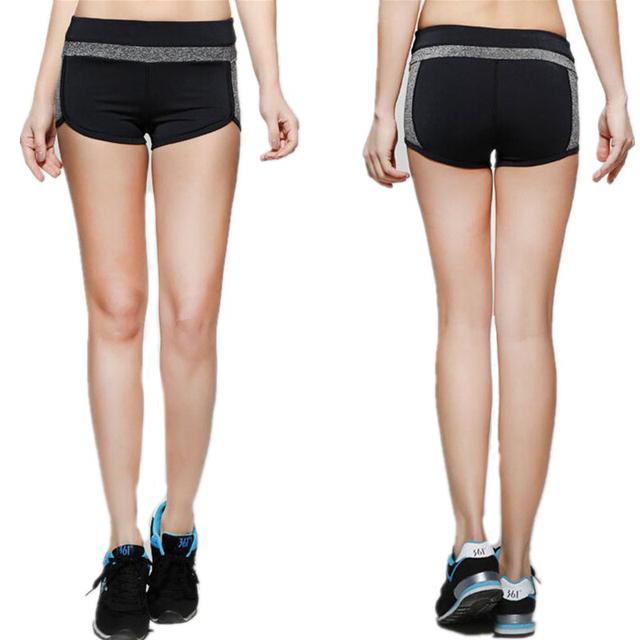 Hot Summer Mulheres Beachpants Calções De Fitness Workout Slimming Lady Shorts Cintura Elástica