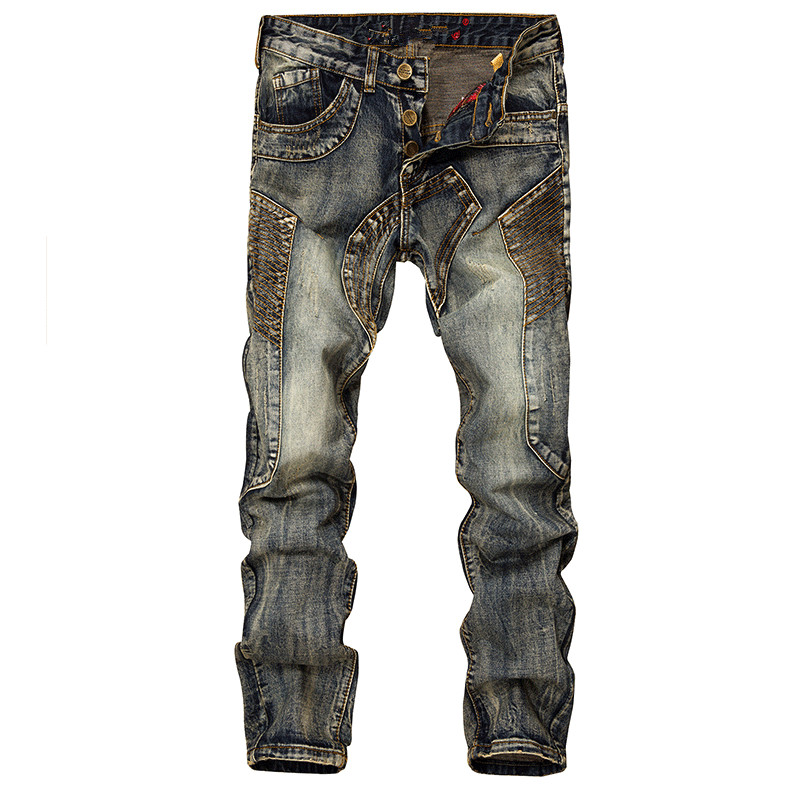 17 New France USA England New Trendy Personalized Vintage Teenagers Cultivate Female Youth Men Trousers Punk Pants Lightweight