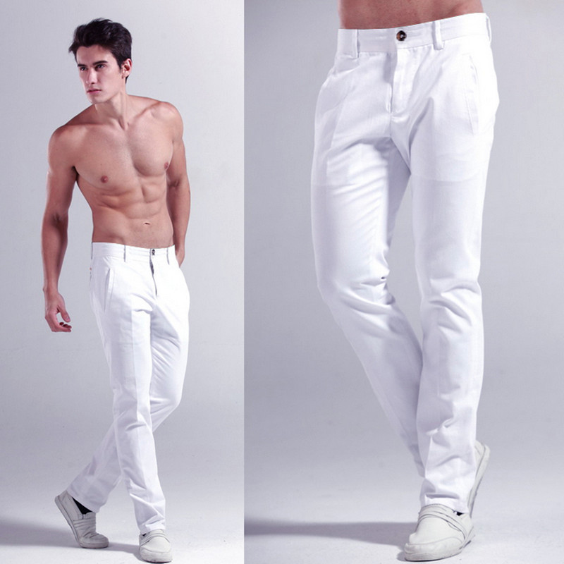 White Pants For Men | Gommap Blog