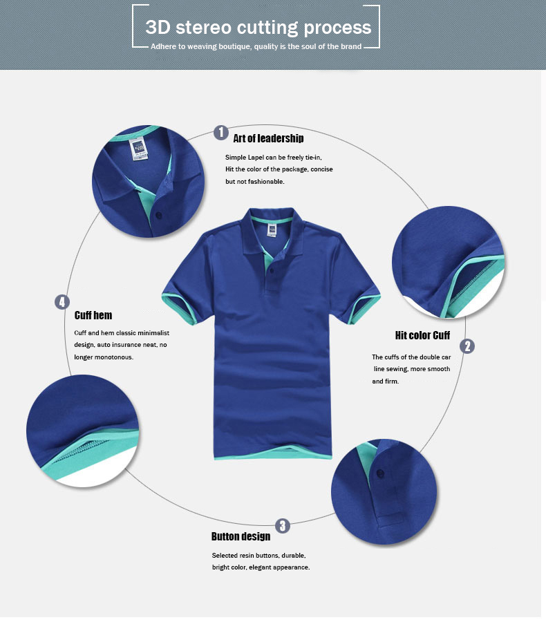 Brand New Men's Polo Shirt High Quality Men Cotton Short Sleeve shirt Brands jerseys Summer Mens polo Shirts 97