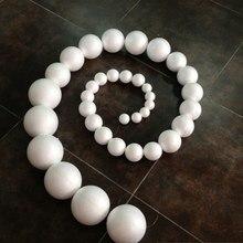 free shipping 1000pcslot 30mm polystyrene balls foam styrene ballsdiy foam ballsdiy materials