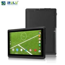 "Vendedor caliente iRULU X3 16 GB ROM 7 ""Android 6.0 Tablet Quad Core Dual Cámaras Tableta 1024*600 HD TFT LCD de Pantalla Táctil GSM Certificado"