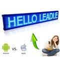 101 СМ Синий ios И Android Wi-Fi беспроводной Пульт Дистанционного Программируемый Реклама СВЕТОДИОДНЫЙ Дисплей Доска, яркий Красный светодиод знак для Бизнес