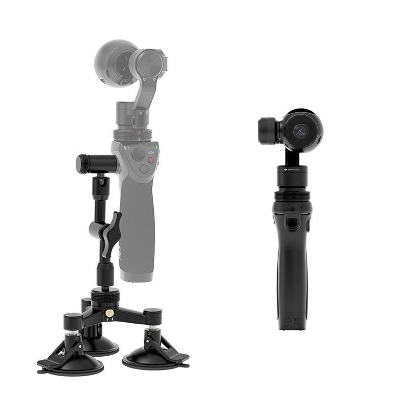 2016 Hot Original DJI OSMO Car Mount for Osmo Handheld 4K camera and 3-Axis Gimbal Newly Coming Camera Accessories Free Shipping