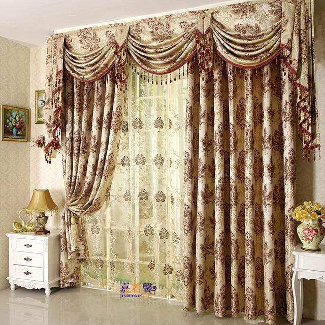 Free Shipping High quality fashion flower curtain head curtain ...