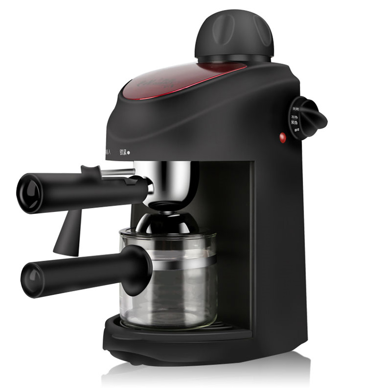 цена на Household Italian Coffee Machine High Pressure Semi-Automatic Coffee Maker Small Commercial Steam Milk Foam Machine CM-8009